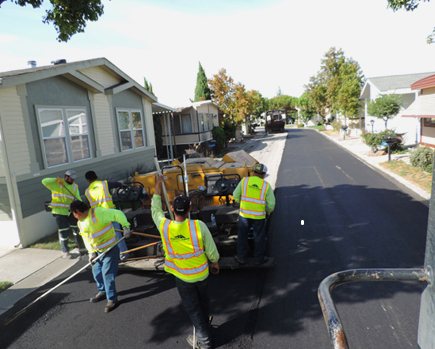 residential development paving company
