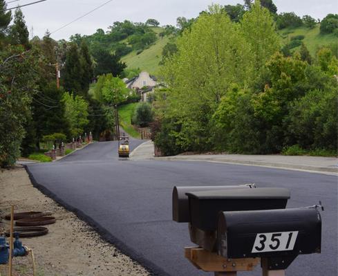 residential community paving