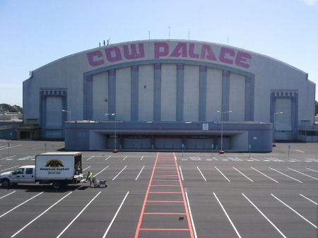 Cow Palace SF Slurry Coating and Striping